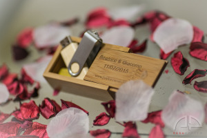 Cofanetto matrimonio wedding case USB